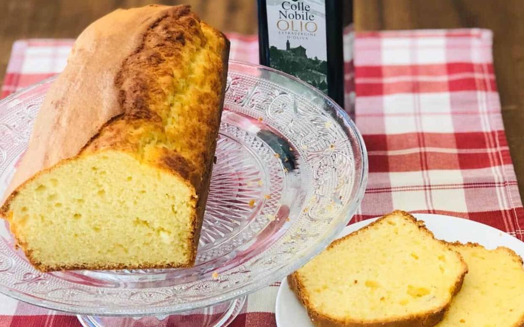 Plumcake con olio di oliva