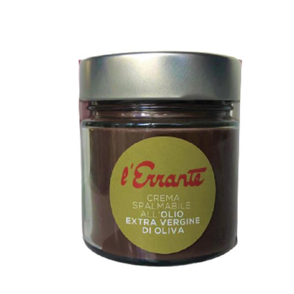 crema splambile olio e nocciole
